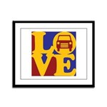 Auto Glass Love Framed Panel Print
