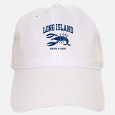 Long Island New York Baseball Baseball Cap
