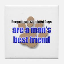 Bergamasco Shepherd Dogs man's best friend Tile Co