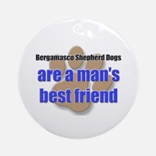 Bergamasco Shepherd Dogs man's best friend Ornamen