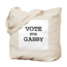 Vote for Gabby Tote Bag