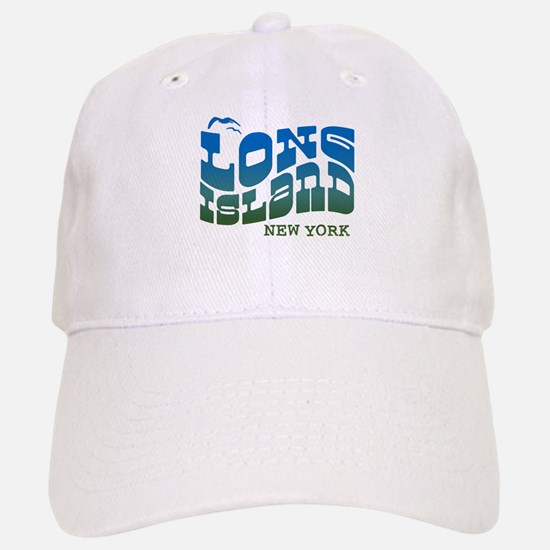 Long Island New York Baseball Baseball Cap