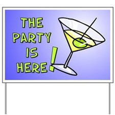 Party - Martini Yard Sign