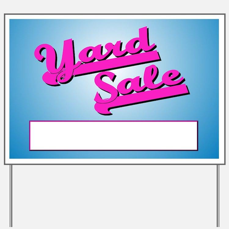 Yard Sale (3) Yard Sign