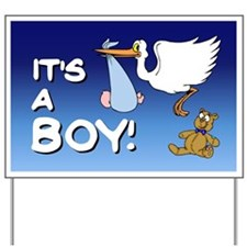 It's a Boy (stork) Yard Sign