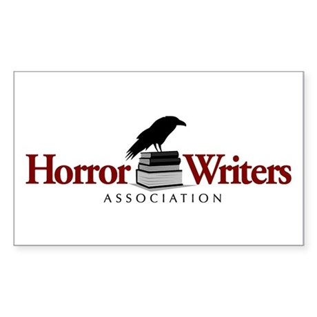 Horror Writers Association Rectangle Sticker 10 p