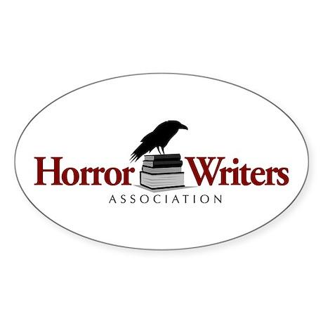 Horror Writers Association Oval Sticker (10 pk)