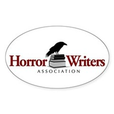 Horror Writers Association Oval Decal