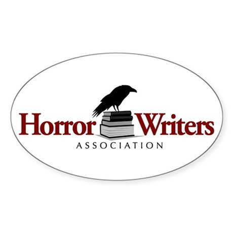 Horror Writers Association Oval Sticker