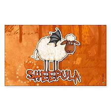 sheepula Rectangle Decal