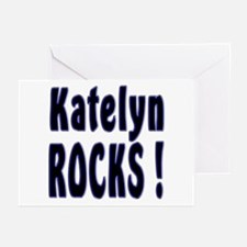 Katelyn Rocks ! Greeting Cards (Pk of 10)