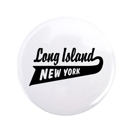 "Long Island New York 3.5"" Button"