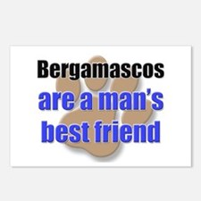 Bergamascos man's best friend Postcards (Package o