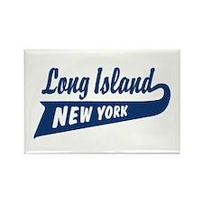 Long Island New York Rectangle Magnet