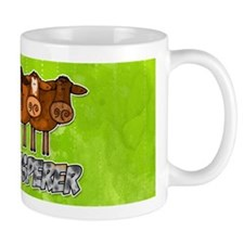 cow whisperer blue heeler Mug