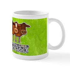 cow whisperer blue heeler Small Mug