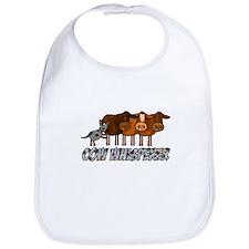 cow whisperer blue heeler Bib