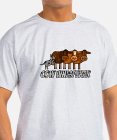 cow whisperer blue heeler T-Shirt