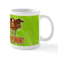 cow whisperer red heeler Mug