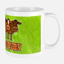 cow whisperer red heeler Mug
