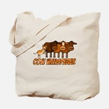 cow whisperer red heeler Tote Bag
