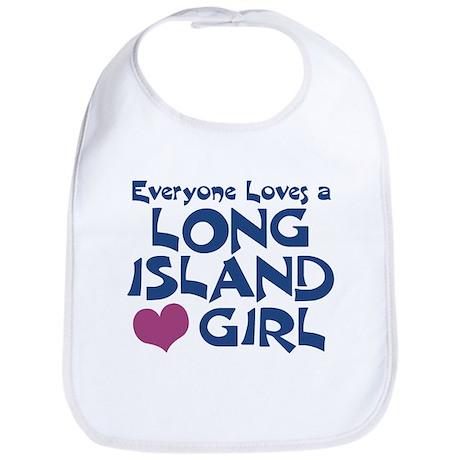 Long Island Girl Bib