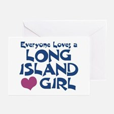 Long Island Girl Greeting Cards (Pk of 10)