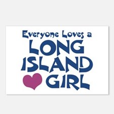 Long Island Girl Postcards (Package of 8)