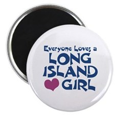 Long Island Girl Magnet
