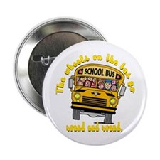 "School Bus Kids 2.25"" Button (10 pack)"
