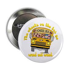 "School Bus Kids 2.25"" Button (10 pack)"