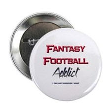 Fantasy Football Addict Button