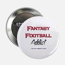 Fantasy Football Addict Button