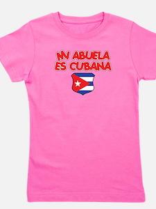Mi Abuela Es Cubana Shield T-Shirt