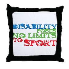 Special Olympics Throw Pillow