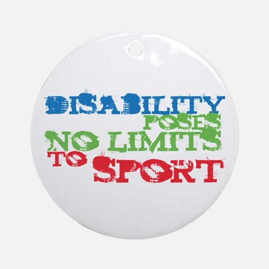 Special Olympics Ornament (Round)