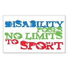 Special Olympics Rectangle Sticker 10 pk)