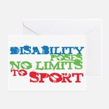 Special Olympics Greeting Card