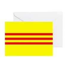 South Vietnam Flag Note Cards (Pk of 20)