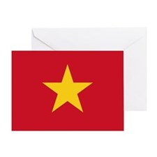 Single Flag of Socialist Rep. of VN Note Card
