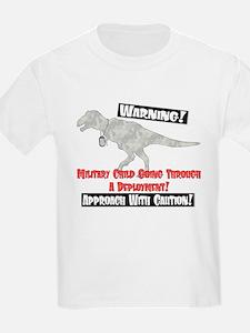 Military Child Dino T-Shirt