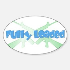 Fully Loaded Oval Decal