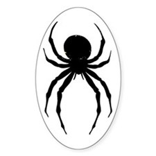 The Spider Oval Decal