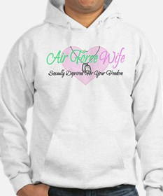 Air Force Wife Sexually Deprived Hoodie