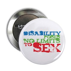 """Sex and Disability 2.25"""" Button (100 pack)"""