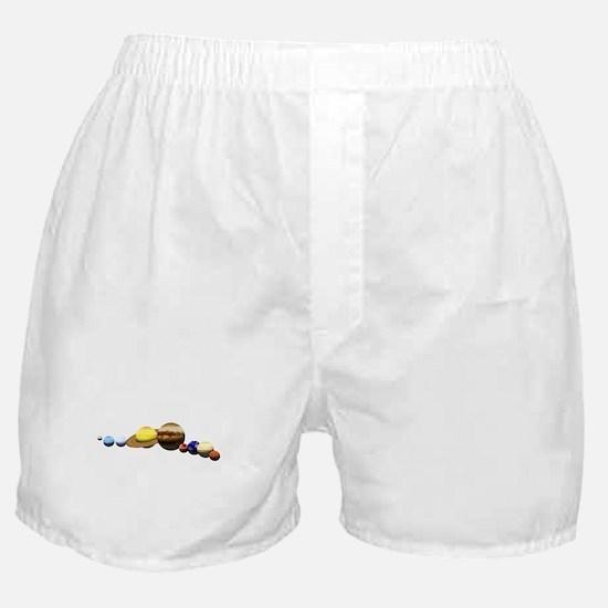 Solar System Boxer Shorts
