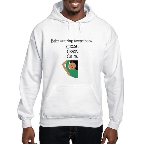 Baby Wearing 2 Hooded Sweatshirt