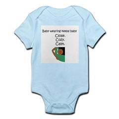 Baby Wearing 3 Infant Creeper