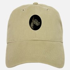 Black Great Dane Portrait Baseball Baseball Cap