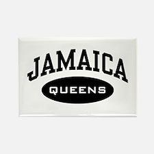Jamaica Queens Rectangle Magnet